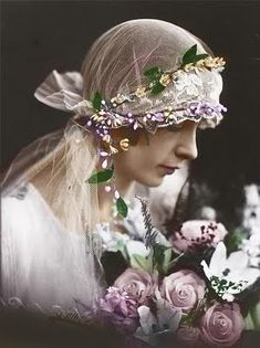 vintage tinted photos | But I love the hand tinting.