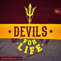 Get some #ASU #SunDevilSwag NOW. Special Pricing + Free Shipping at DieHard-Apparel.com or DieHardSunDevilApparel.com #ArizonaState #SunDevils