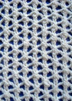 Motif en étoile Rib Mesh tricoter Point