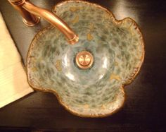 Handmade Pottery Sink Vessels By Stonefly Ceramics | Vessel Sink U0026 Bathroom  Ideas | Pinterest | Ceramics, Basins And Handmade