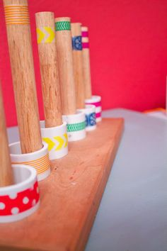 PVC Pipe Stacking Toy; looking for ideas for a homemade Christmas? Look no further! This stacking toy cost less than $5 to make and keeps my son entertained for hours!