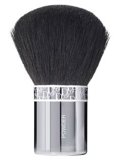 Small enough to stash in your bag, this Backstage Makeup Powder Brush rids you of a shiny t-zone and keeps you looking great all day! Dior Makeup, Skin Makeup, Makeup Brushes, Dior Beauty, Beauty Makeup, Best Brushes, Make Makeup, Beauty Essentials, Lifestyle