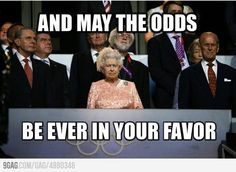 do you think she had such a serious face on purpose just to pay homage to the hunger games? LOVE IT!