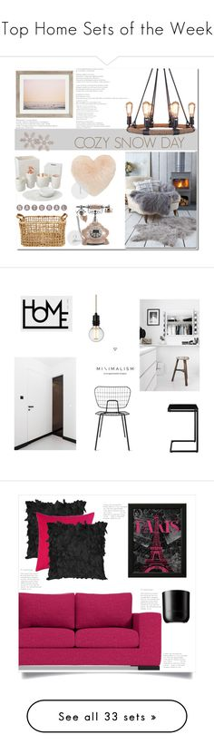 """""""Top Home Sets of the Week"""" by polyvore ❤ liked on Polyvore featuring interior, interiors, interior design, home, home decor, interior decorating, Nordstrom, Home Decorators Collection, Urban Outfitters and Betsey Johnson"""