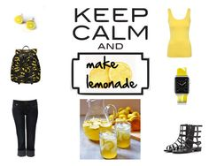 """""""Make lemonade"""" by hayden24style ❤ liked on Polyvore"""