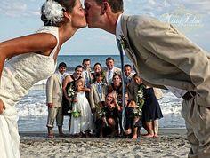 Beach wedding  ImagesByMistyPhotography.com