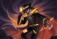 LoL - twisted fate by justduet on DeviantArt League Of Legends Community, League Of Legends Game, Twisted Fate, Guild Wars 2, Epic Art, Anime Style, Funny Comics, Sailor Moon, Character Art
