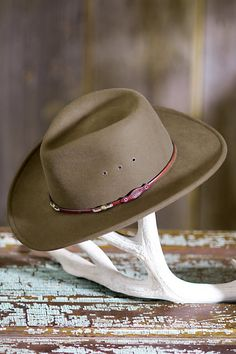 f7f21771201 Stetson Wildwood Crushable Wool Cowboy Hat