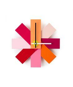 Orologio da parete dai colori brillanti | Details