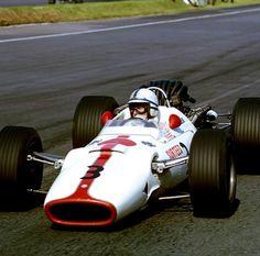 John Surtees in a Honda