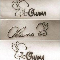 Resultado de imagen para ohana stitch tattoo