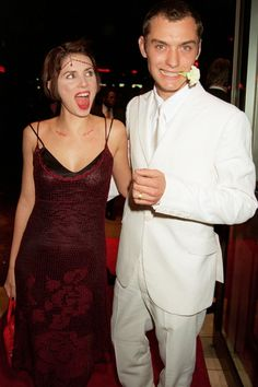 Sadie Frost & Jude Law, 1997
