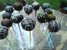 Cakepops, Cupcakes und co.: 1. Bloggeburtstag♥ / Cakepops Rezept / Schrit - fü...