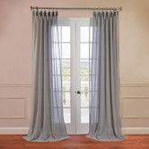 Found it at Wayfair - Sheer Pole Pocket Single Curtain Panel
