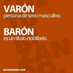 Varón/barón