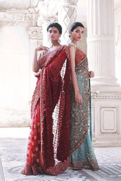 Indian Bridal Outfits, Indian Designer Outfits, Indian Dresses, Indian Clothes, Ethnic Fashion, Indian Fashion, Saree Fashion, Fashion Art, Saree Trends