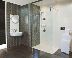 For Modern Bathroom With Single Sink More Romans Wetroom Bathroom
