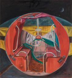 Gamze Olgun Minimalist Art, Oil On Canvas, Saatchi Art, Original Paintings, Mirror, Artist, Home Decor, Homemade Home Decor, Painted Canvas