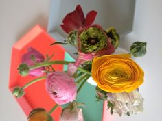 Springtime at home, kaleido trays by Hay
