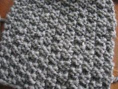 Point facile au tricot: le point de damier 2 mailles – Bonjour Handmade par AnnyMay