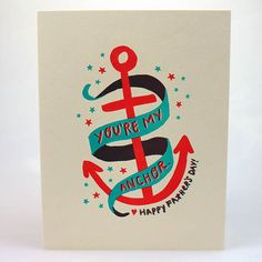 Anchor Father's Day Card by Hello Lucky!