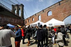 Sample the city's diverse cuisine at Smorgasburg.