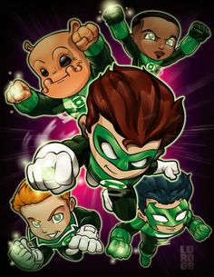 Lil Green Lantern Corp by *lordmesa on deviantART