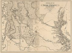 King County Topographic Map.58 Best Beautiful Maps From Early Washington Images Historical