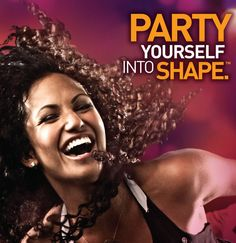 Party Yourself Into Shape. ZumbaViva at 19.00 Zumba Fitland at 20.00