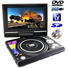Portable DVD Player With Inbuilt 7 Inch LCD best price in India at Rs.4,999.EMI options available shop Portable DVD Player With Inbuilt 7 Inch LCD online -Electronics  from Rediff Shopping.