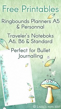 Free Watercolor Printables for different Planners : - Ringbound planners (A5 & Personal Size) - Traveler's Notebooks (A6, B6 and Standard Size) All this articles are for personal use only. No commercial use will be allowed.