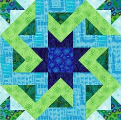 Octagonia Paper Pieced Quilt Block Pattern - LOVE THIS, but waaaayyy beyond my abilities!!