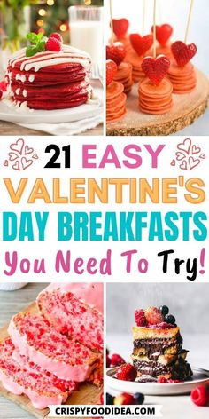 Valentines Baking, Valentines Breakfast, Valentines Sweets, Valentine Recipes, Valentine Treats, Cute Breakfast Ideas, What's For Breakfast, Perfect Breakfast, Breakfast Recipes