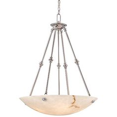 "Metropolitan Virtuoso 27"" Wide Pewter Pendant Light"