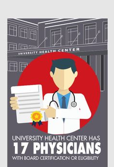 The University of Georgia's Health Center was awarded the highest recognition for health care organizations, accreditation for all services.