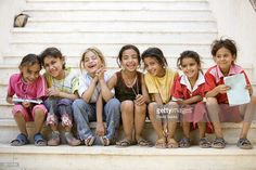 The orphan/captive Ishma could have looked like any one of these little girls - heart-breaking!