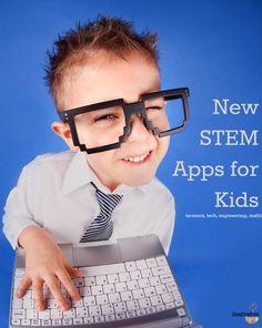 STEM apps for kids --> super post from @Melissa Squires Squires Squires Squires Taylor