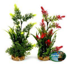 Top Fin Artificial Flowers Aquarium Plant | Artificial Plants | PetSmart