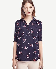 d1c58855ab16c9 Primary Image of Floral Popover Camp Shirt