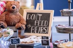 teddy-bear-picnic-snacks Teddy Bear Picnic First Birthday! teddy bear picnic ideas | first birthday | first birthday party ideas | smash cake | teddy bear | party planning | baby's first birthday | teddy bear picnic party | indoor picnic | gingham and burlap decor #teddybearpicnic #teddybearbirthday #firstbirthdayparty #firstbirthdayideas #babysfirstbirthday #smashcake #eventplanning #sweetwoodcreativeco #gingham #burlap #partydecor