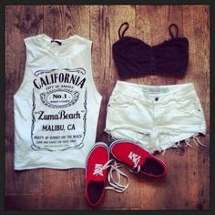 Cute summer outfit clothes style for summer summer outfits waterfalls for summer Summer Fashion Outfits, Cute Summer Outfits, Casual Outfits, Cute Outfits, Summer Clothes, Fasion, Casual Wear, Look Fashion, Teen Fashion