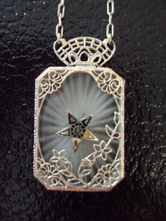 Filigree Eastern Star Necklace