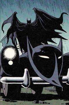 Batman by Brian Bollard