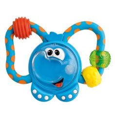 CHICCO Toy Tulip Rattle Blue 3 Months