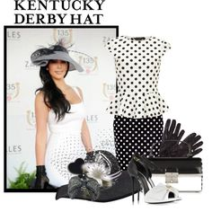 Kentucky Derby Hat by defineyourstyle on Polyvore featuring Dorothy Perkins, Giuseppe Zanotti, Marc Jacobs, Frette, John Lewis, Gigi Burris Millinery, Zara Home and kentuckyderbyhat
