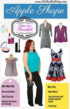 Apple Shape by... clothesbefitting.com