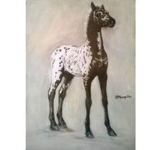 "#foal #appaloosa #oilcolor on board 13,77x18,89""  #appaloosasofinstagram #appaloosahorse #horse #horses #horseriding #foalsofinstagram #foals #caballo #cheval #artwork #equestrianlifestyle #equestriansofinstagram #horseshow #horses_of_instagram #instahorse #caballos #horsedrawing #animallover #painting #painthorse #drawing #draw #horseman #horsemanship #riding #oilpainting"