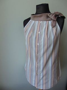 Upcycled Clothing / Faded Red Orange par GarageCoutureClothes
