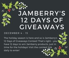 Have you been naughty or nice?  Contest Link: https://www.jamberry.com/us/en/12-days-of-giveaways  Prizes & Winners: https://www.facebook.com/jamberrynails/