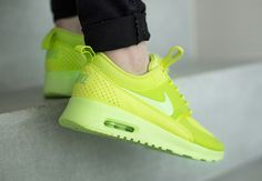 Nike Air Max Thea - Cyber - Liquid Lime - SneakerNews.com